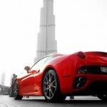 Ferrari z tyłu
