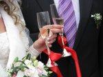 Ślub, toast