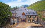 Remiza docieplonego bloczkami YTONG MULTIPOR pałacu w niemieckim miasteczku Lieser